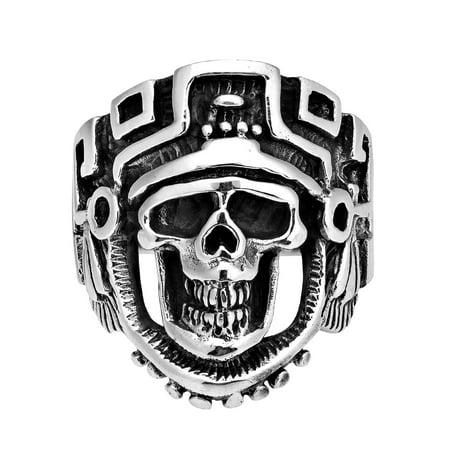 Skeleton Skull Knight Sterling Silver Ring-8](Skeleton Knight)