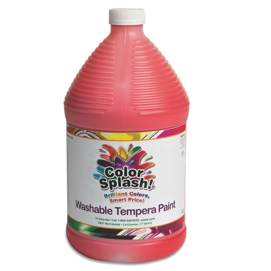 128-oz. Color Splash! Washable Tempera Paint-Red