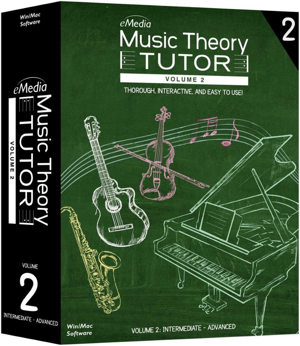 eMedia Music Theory Tutor Volume 2 by Emedia Music