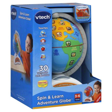 VTech - Spin and Learn Adventure Globe - amazon.com