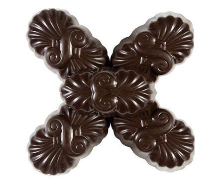 Gertrude Hawk Mark Avenue Hawk Chocolates, 70 Percent Cocoa Silk Truffles (7.5 Pounds) by