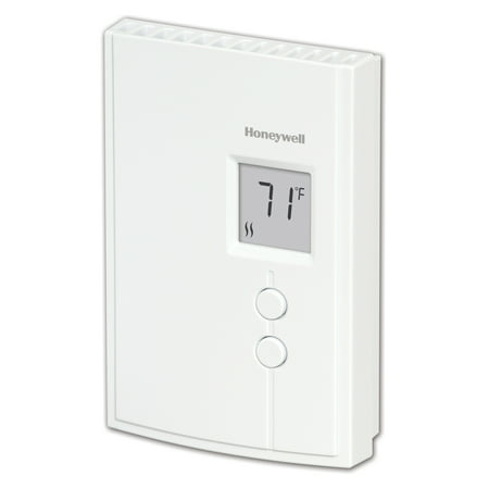 Honeywell Digital Non-Programmable Line Volt Thermostat for Electric Heat (RLV3120A1005/E1)