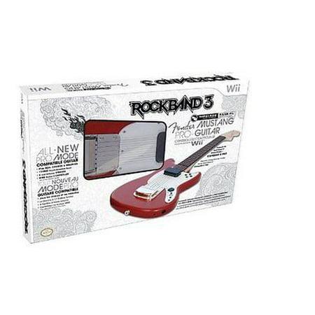 MAD CATZ RB3965630N03/02/1 Nintendo Wii(TM) Rock Band(R) 3 Wireless Fender(TM) Mustang(TM) PRO-Guitar(TM) Controller ()