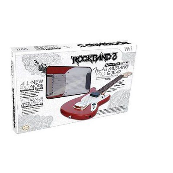 MAD CATZ RB3965630N03/02/1 Nintendo Wii(TM) Rock Band(R) 3 Wireless  Fender(TM) Mustang(TM) PRO-Guitar(TM) Controller