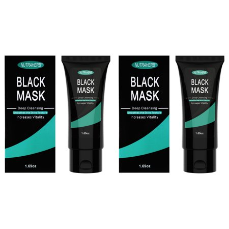 Blackhead Remover Mask (2 Blackhead Mask) Purifying Peel Off Charcoal Facial Black Mask That Is Great For Deep Cleansing Blackheads, Whitehead, Clogged Pores, Pimples and Acne Treatment Around