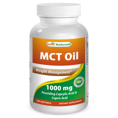 Best Naturals MCT Oil 1000mg 180 Softgels