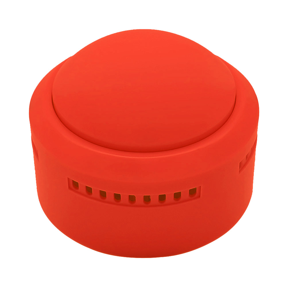 Sound Button Music Sound Buzzer with Light Recordable Talking Button Red