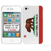 Cellet Proguard with California Flag for Apple iPhone 4 and 4S