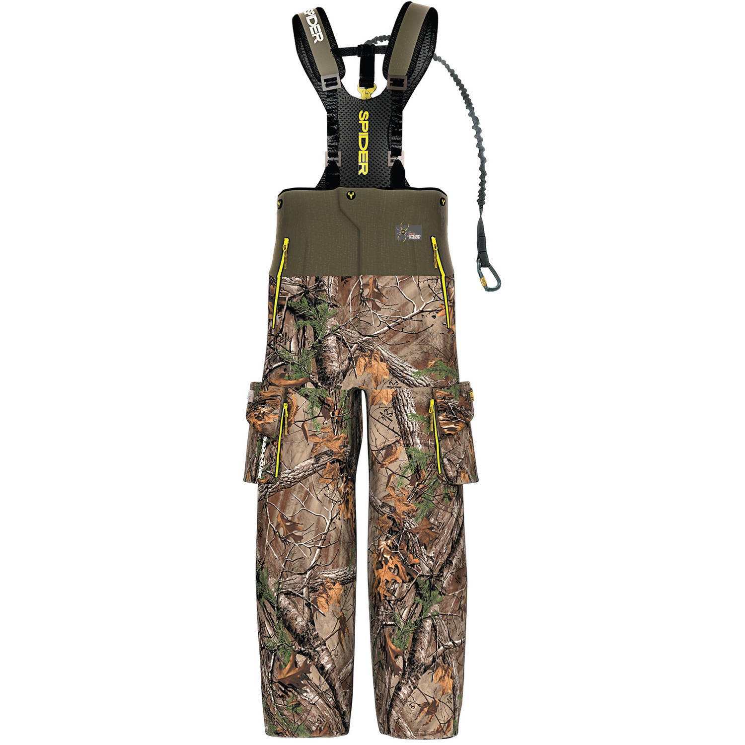 Men's Outfitter Safety Bibs with Trinity Technology SpiderWeb ScentBlocker, Available in Multiple Sizes by ScentBlocker