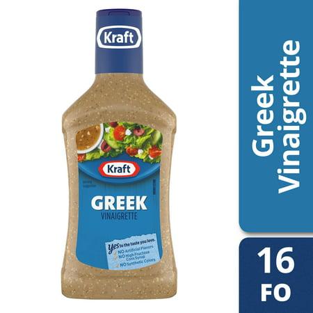 Kraft Greek Vinaigrette Salad Dressing - 16fl oz