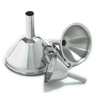 Norpro Stainless Steel Funnel Set (3 Pieces)