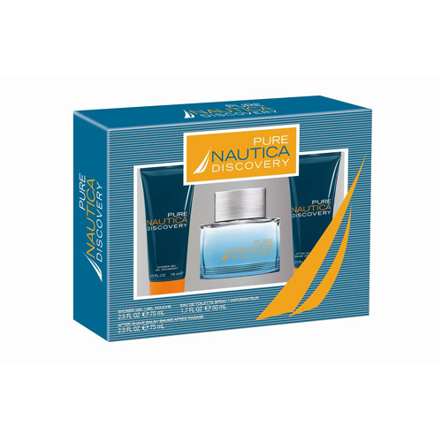 Nautica Pure Discovery Fragrance Gift Set, 3 pc