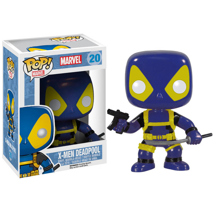 Click here to buy Funko Pop! Marvel X-Men, Deadpool by Funko.