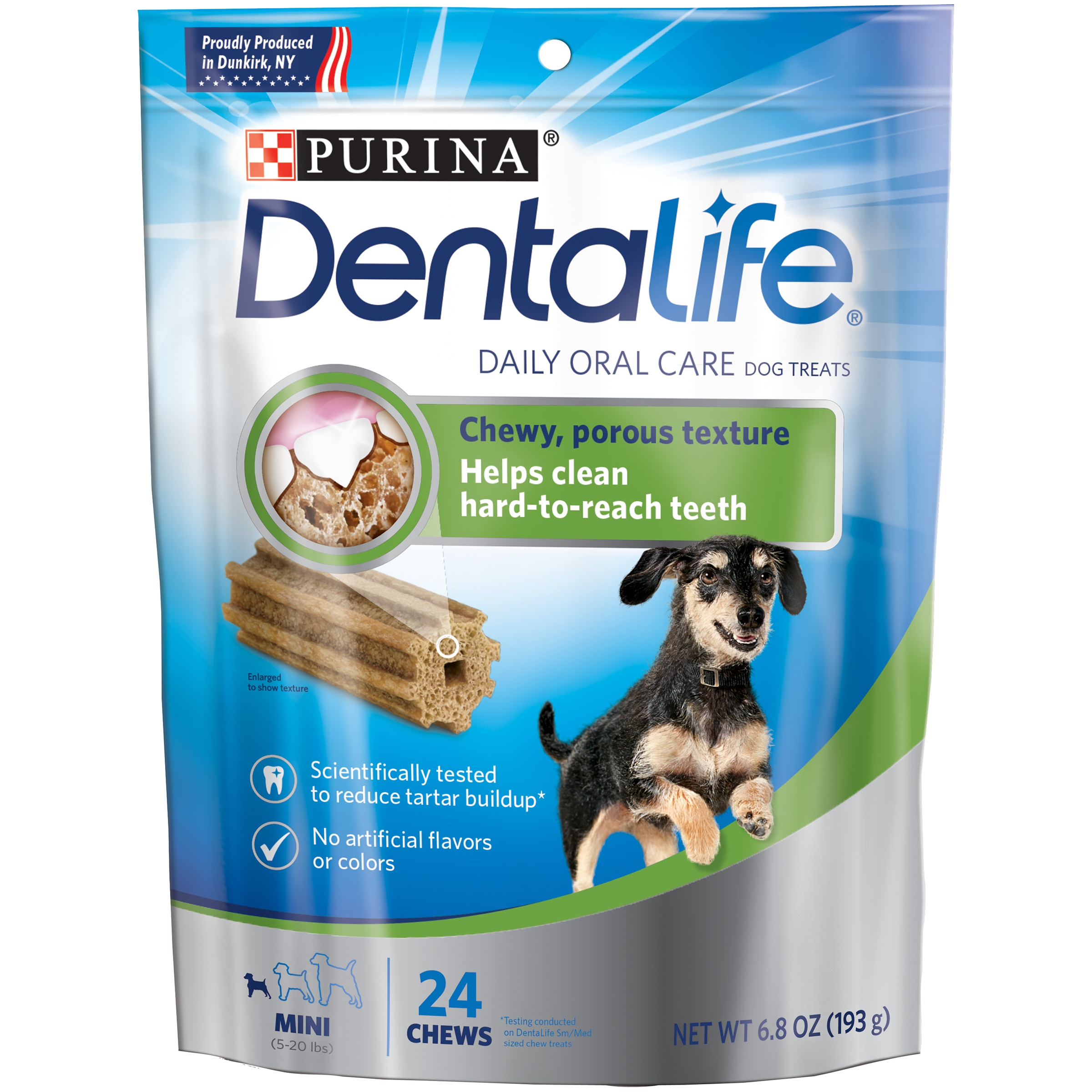 Purina DentaLife Daily Oral Care Mini Dog Treats 24 ct Pouch by Nestlé Purina PetCare Company