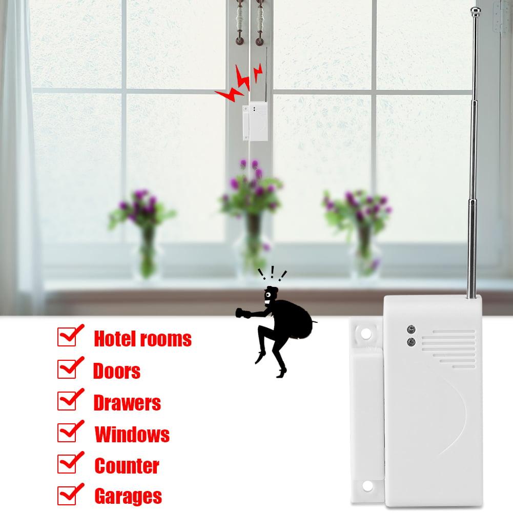 Yosoo 433mhz Wireless Door Window Entry Magnetic Sensor Alarm Anti