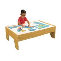KidKraft Wooden Play Table - Natural