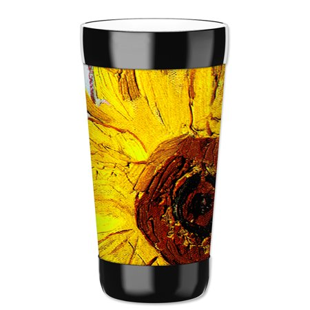 Mugzie 16-Ounce Tumbler Drink Cup with Removable Insulated Wetsuit Cover - Van Gogh: