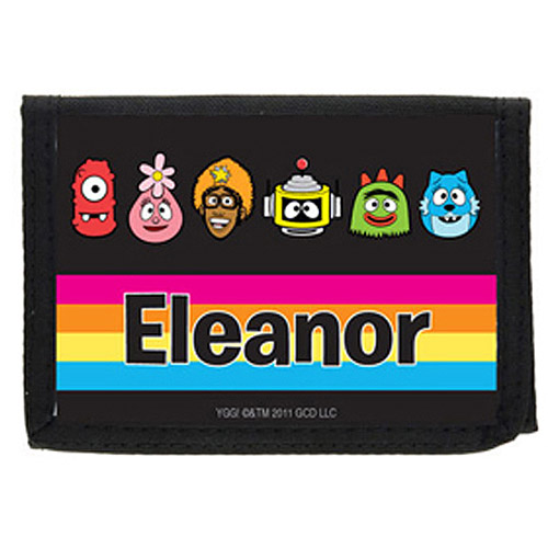 Personalized Yo Gabba Gabba! Line-Up Wallet