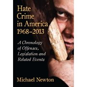 Hate Crime in America, 1968-2013 - eBook