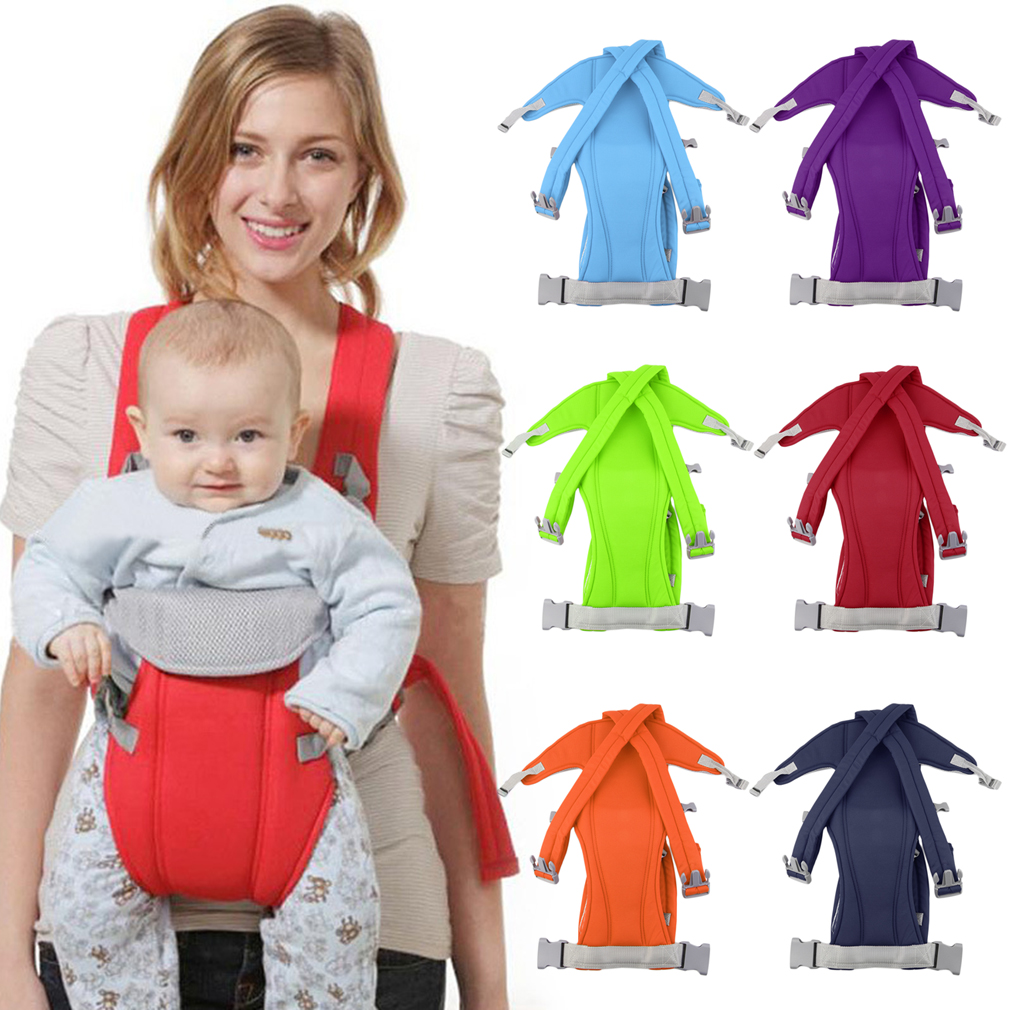 3-16 Month Infant Baby Carrier Sling Wrap Rider Backpack Front/Back Pack Soft