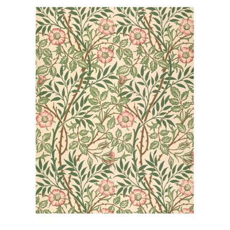 sweet Briar' Design for Wallpaper, Printed by John Henry Dearle (1860-1932) 1917 Print Wall Art By William Morris](John Carpenter's Halloween Wallpaper)