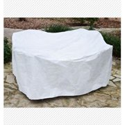 KoverRoos 21540 DuPont Tyvek 3 Pc Cafe Set Cover, White - 60 L x 30 W x 30 H in.