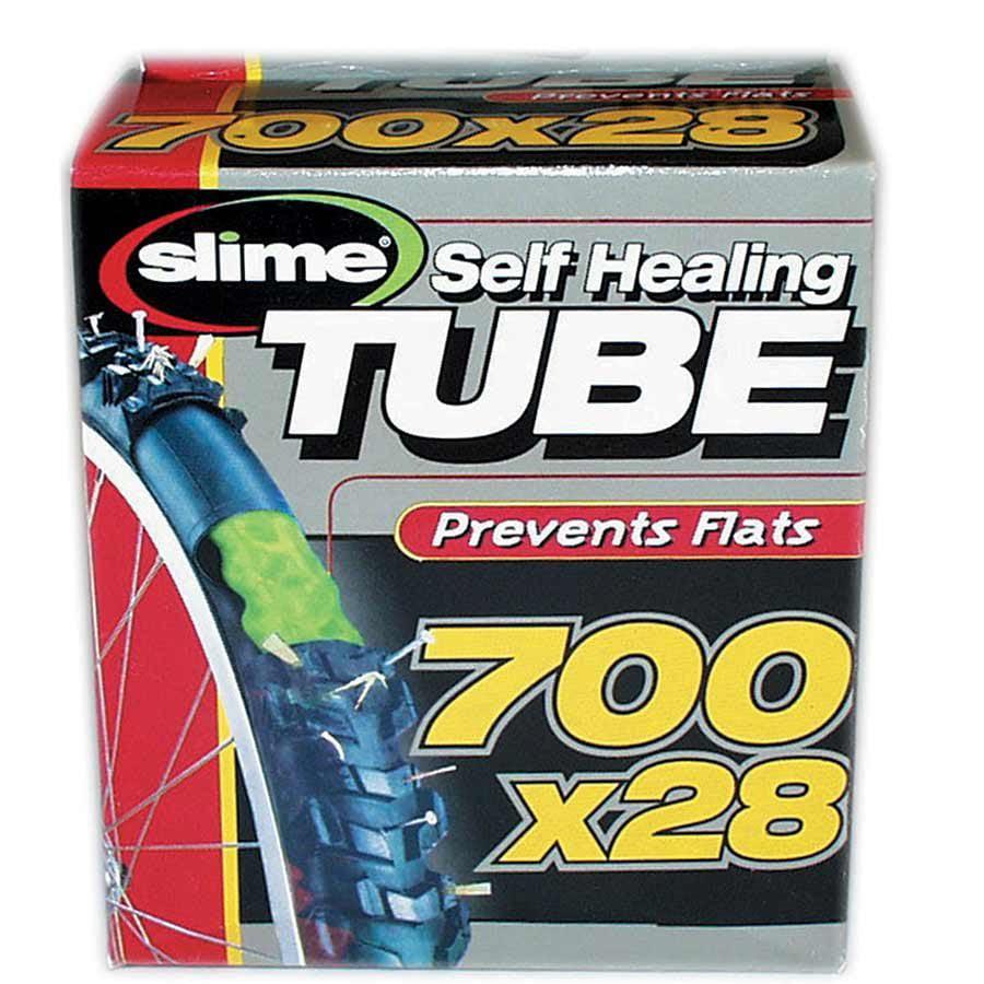Slime Self Sealing Tube 700x x28mm-35mm, 48mm Presta Valve