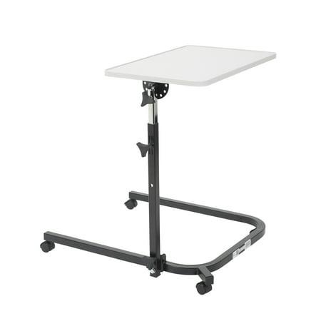Drive Medical Pivot and Tilt Adjustable Overbed Table (Pivot Tables)