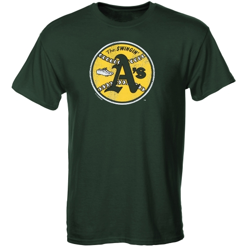 Oakland Athletics Youth Cooperstown T-Shirt - Green