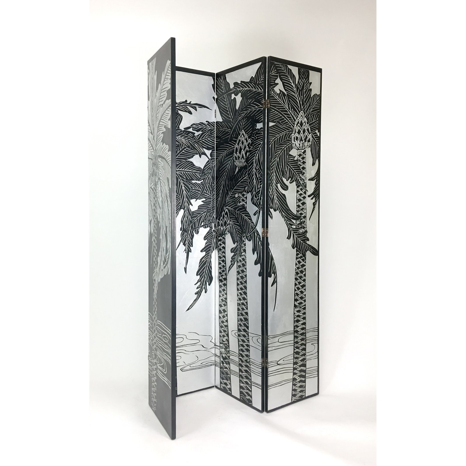 Wayborn Palm Tree Double Side Screen