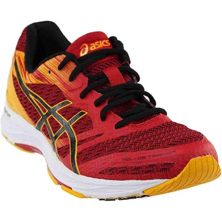 reputable site 52070 a624d ASICS Men's Gel-DS Trainer 22 Prime, Red/Black/Gold 12 D US