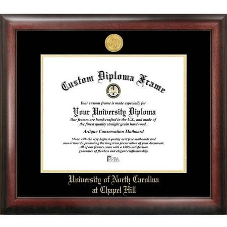 University of North Carolina, Chapel Hill 11.5 x 14 Gold Embossed Diploma Frame