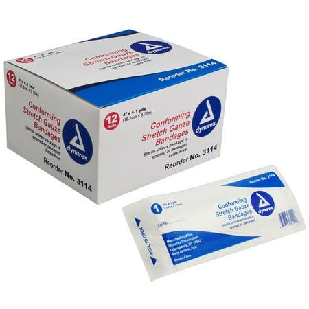 Bandage Wraps Sterile Conforming Stretch Gauze 4