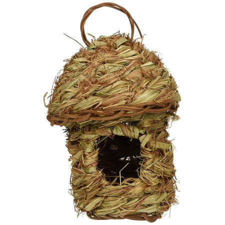 Finch Bird Nests - BPV1158 Finch Bird Pagoda Top Hut Nest, Pagoda top hut nest for breeding purposes By Prevue Pet Products