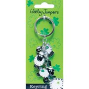 "Wooley Jumpers Charm Keyring 3.5""-"