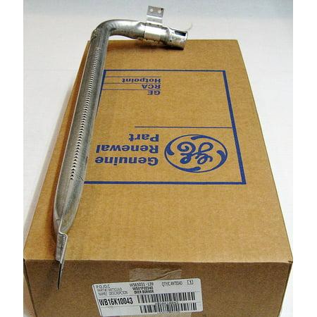 WB16K10043 GE Gas Range Oven Bake Burner Bar AP3418777