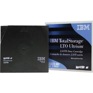 IBM LTO Ultrium 6 Data Cartridge - LTO-6 - 2.50 TB (Native) / 6.25 TB (Compressed) - 2903.54 ft Tape Length - 160 MB/s Native Data Transfer Rate