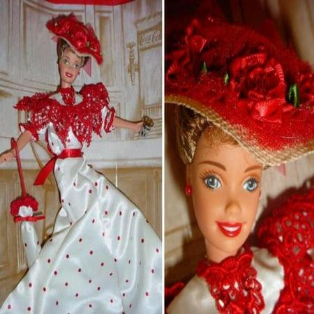 Mattel Soda Fountain Sweetheart Barbie - Coca Cole Barbie - 1st