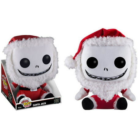 plush mega nightmare before christmas santa jack