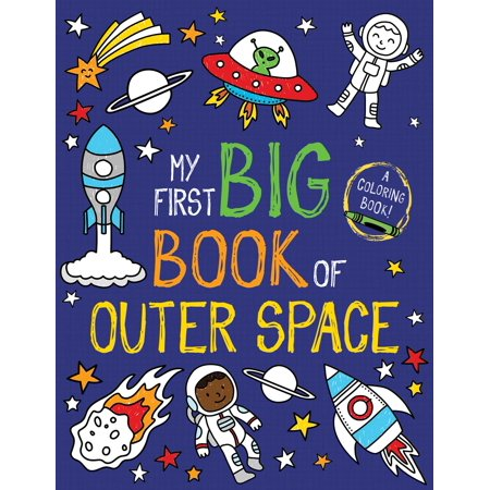 My First Big Book of Outer Space (The First Dog In Space Laika Information)