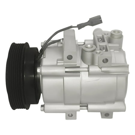 RYC Remanufactured AC Compressor and A/C Clutch EG183 Fits 2001, 2002, 2003, 2004, 2005, 2006 Hyundai Santa Fe 2.7L