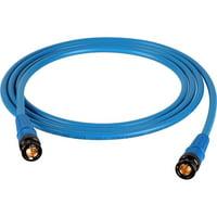 TecNec T1505-BB-75-YW RG59 Black & Gold HD BNC Cable, 75 ft. - Yellow