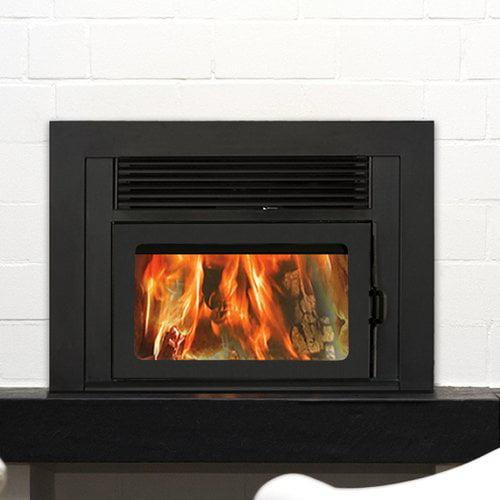 Supreme Fireplaces Inc. Volcano Plus Wood Burning Fireplace Insert