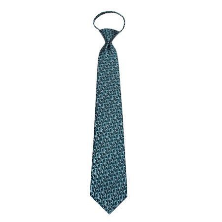 Mens Pre-made Zipper Tie Fashion Zip Up Neckties
