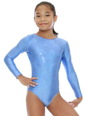 VEVA by Very Vary Girls Marine Blue Mystique Gymnastics Leotard