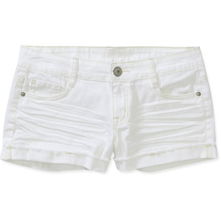 L.E.I. Juniors' Colored Denim Shorts - Walmart.com