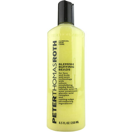 Peter Thomas Roth Blemish Buffing Beads Facial Cleanser & Exfoliator, 8.5 fl (Peter Thomas Roth Vitamin C Cleansing Powder Review)