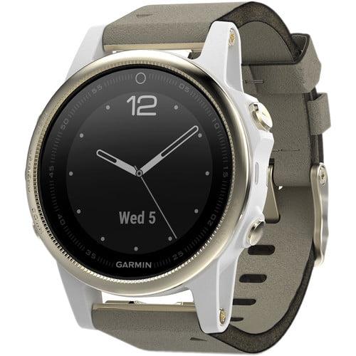 Garmin Fenix 5S Sapphire Compact Multisport GPS Watch
