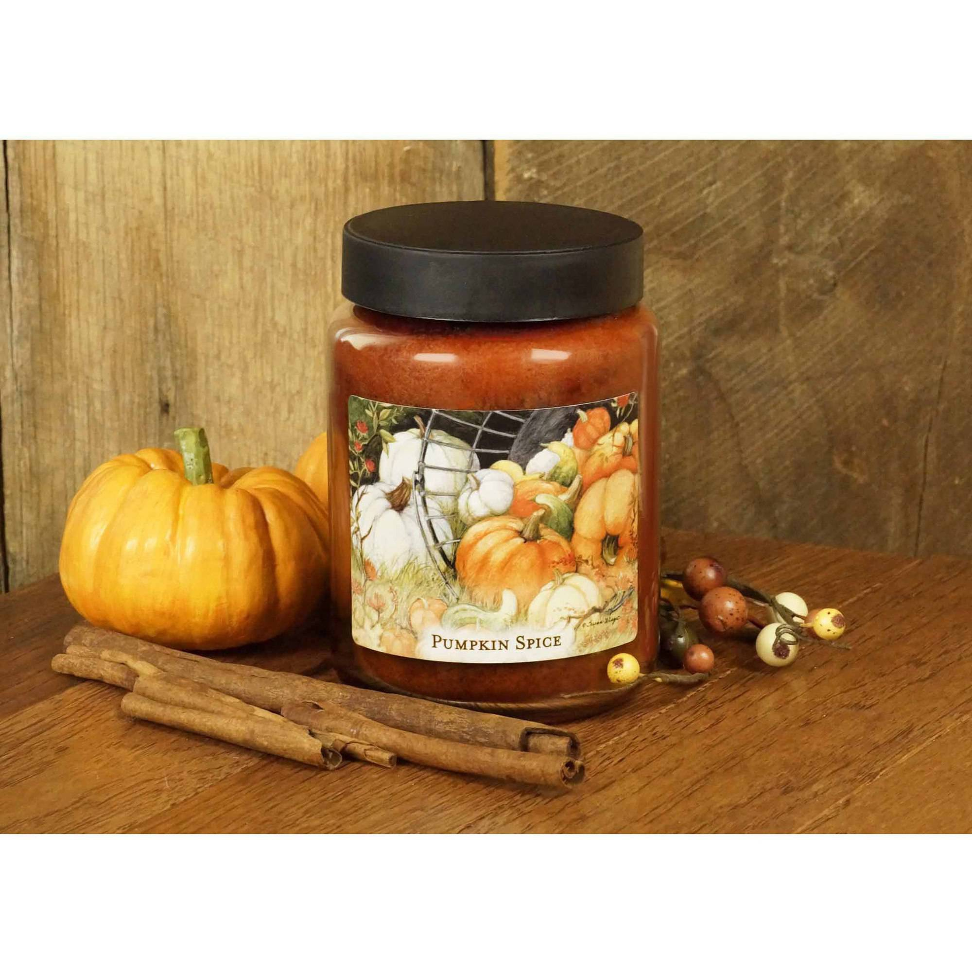 LANG Pumpkin Spice 26-Ounce Jar Candle, Scented with Pumpkin, Clove and Pumpkin Spice