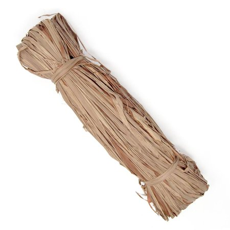 Small Raffia Grass Bundle, Brown, (Variegated Raffia)